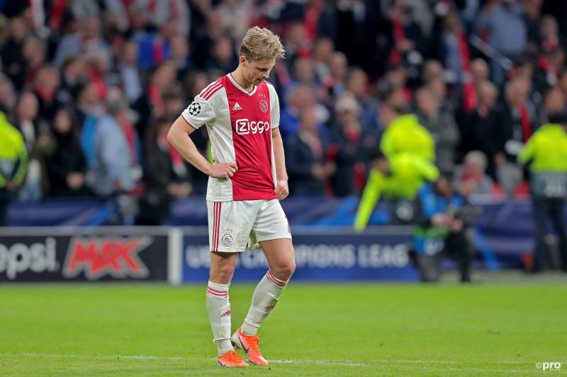 """De Jong: """"Iedereen was stil, niemand zei iets in de kleedkamer"""" (Pro Shots / Kay Int Veen)"""