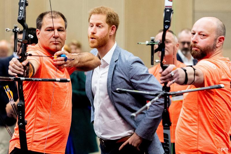 """Prins Harry in Den Haag: """"tot over een jaar"""" (Pro Shots / Action Images)"""