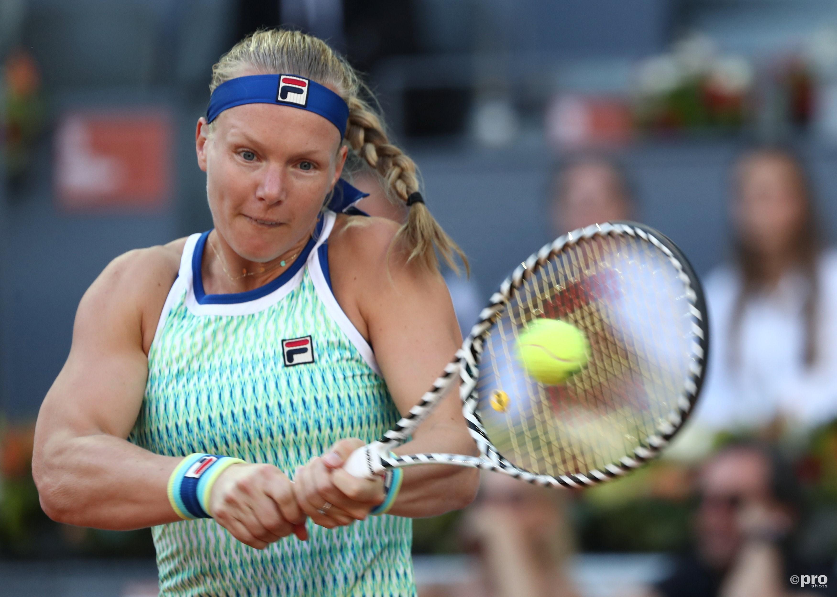 Bertens schrijft tennisgeschiedenis in Madrid (Pro Shots / Action Images)