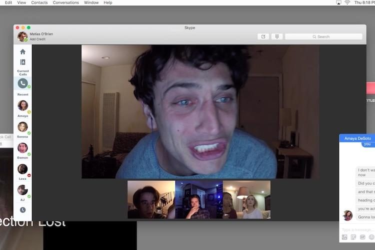 Unfriended: Dark Web bange jongen