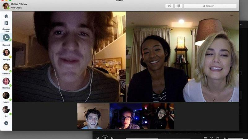 Unfriended: Dark Web screen girls