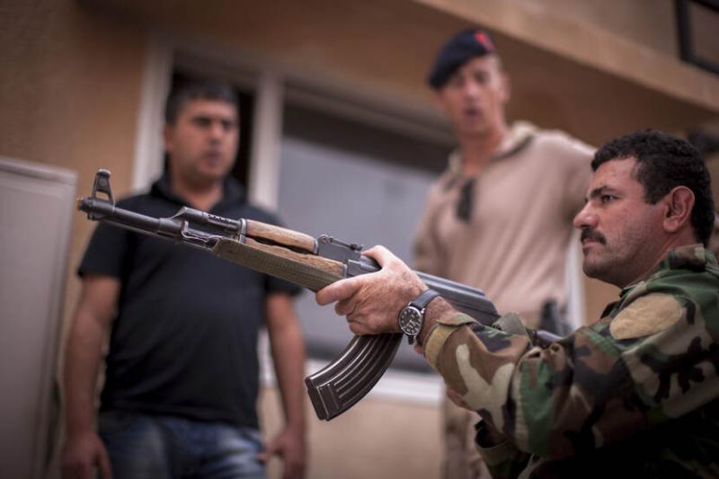 Trainingsmissie Irak hervat (Archieffoto: Defensie)