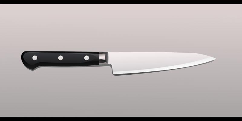 Niet het mes uit het verhaal ... (Afbeelding: Pixabay)