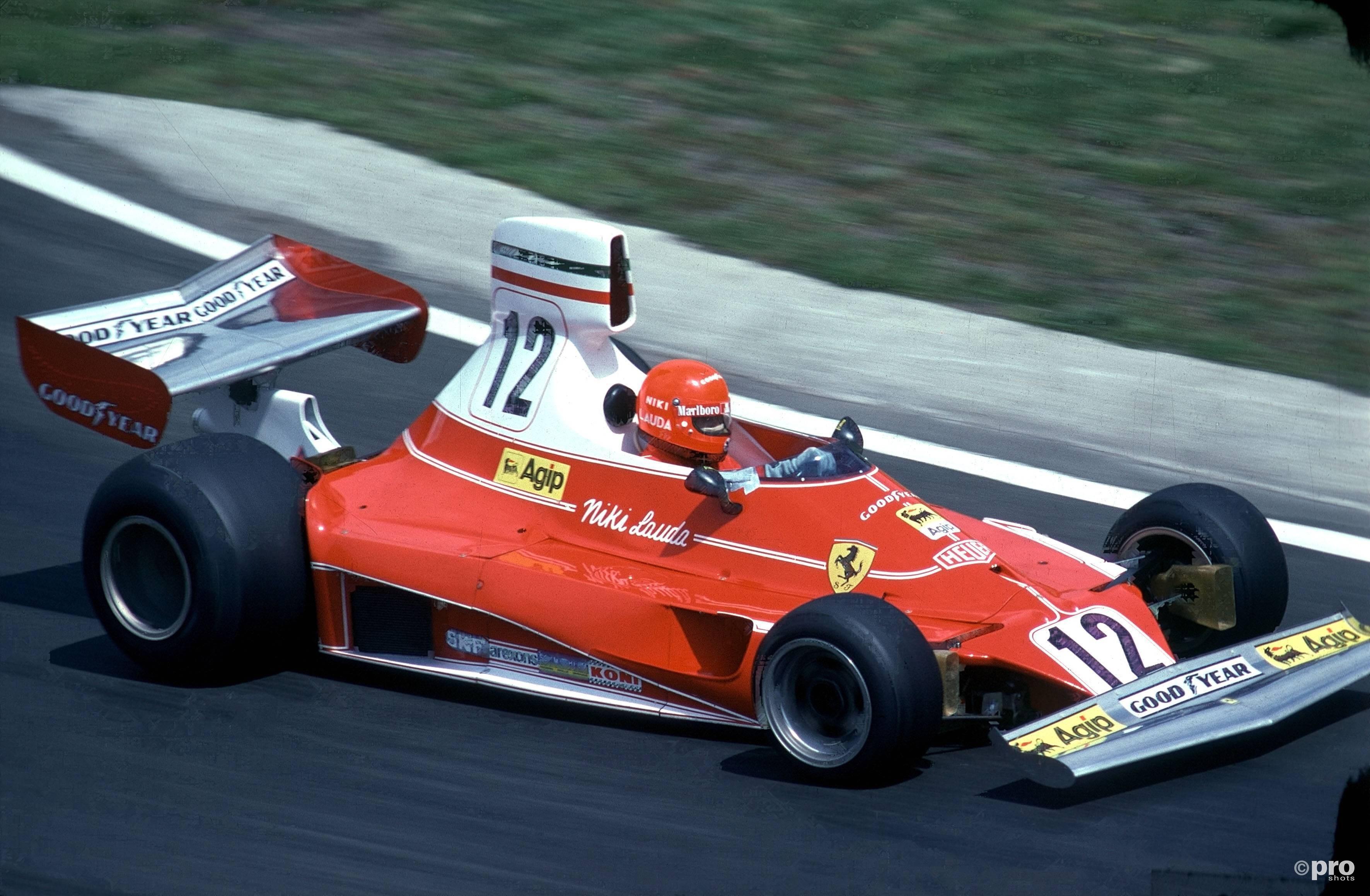 Niki Lauda in de Ferrari (Pro Shots/Imago)