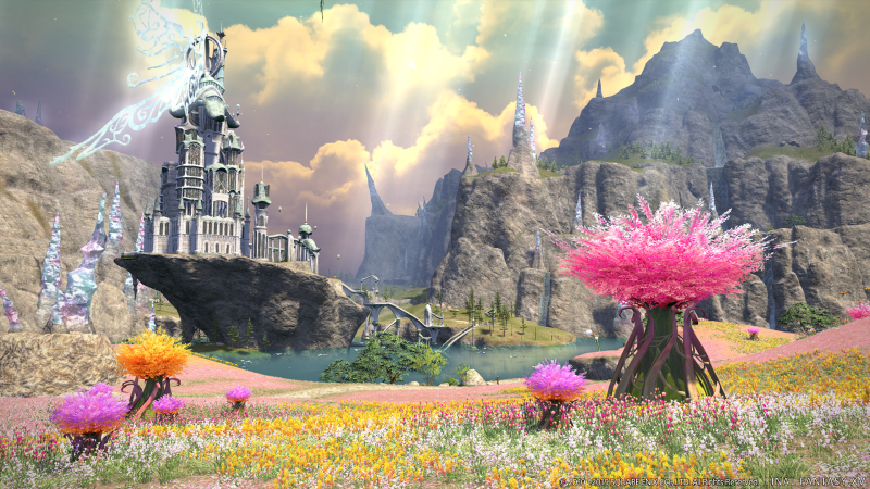 Final Fantasy XIV - Shadowbringers - Area (Foto: Square Enix)