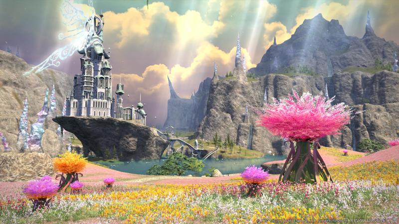 Final Fantasy XIV - Shadowbringers - Area (Foto: Square Enix)