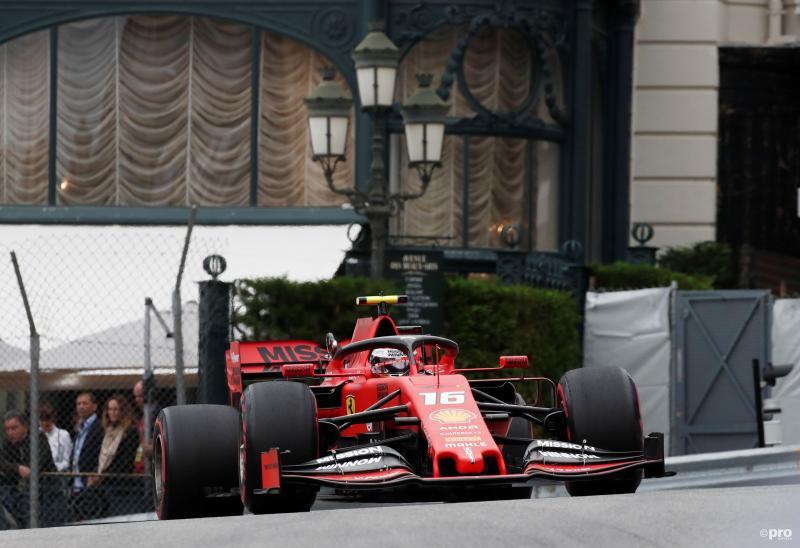 Leclerc komt er in Monaco nog niet aan te pas (Foto: Pro Shots/Action Images)