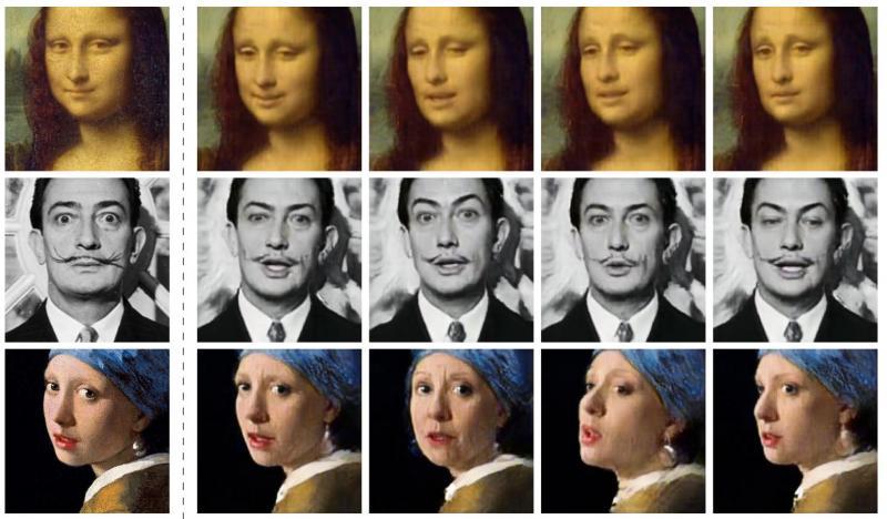 Beroemdheden door de AI bewerkt