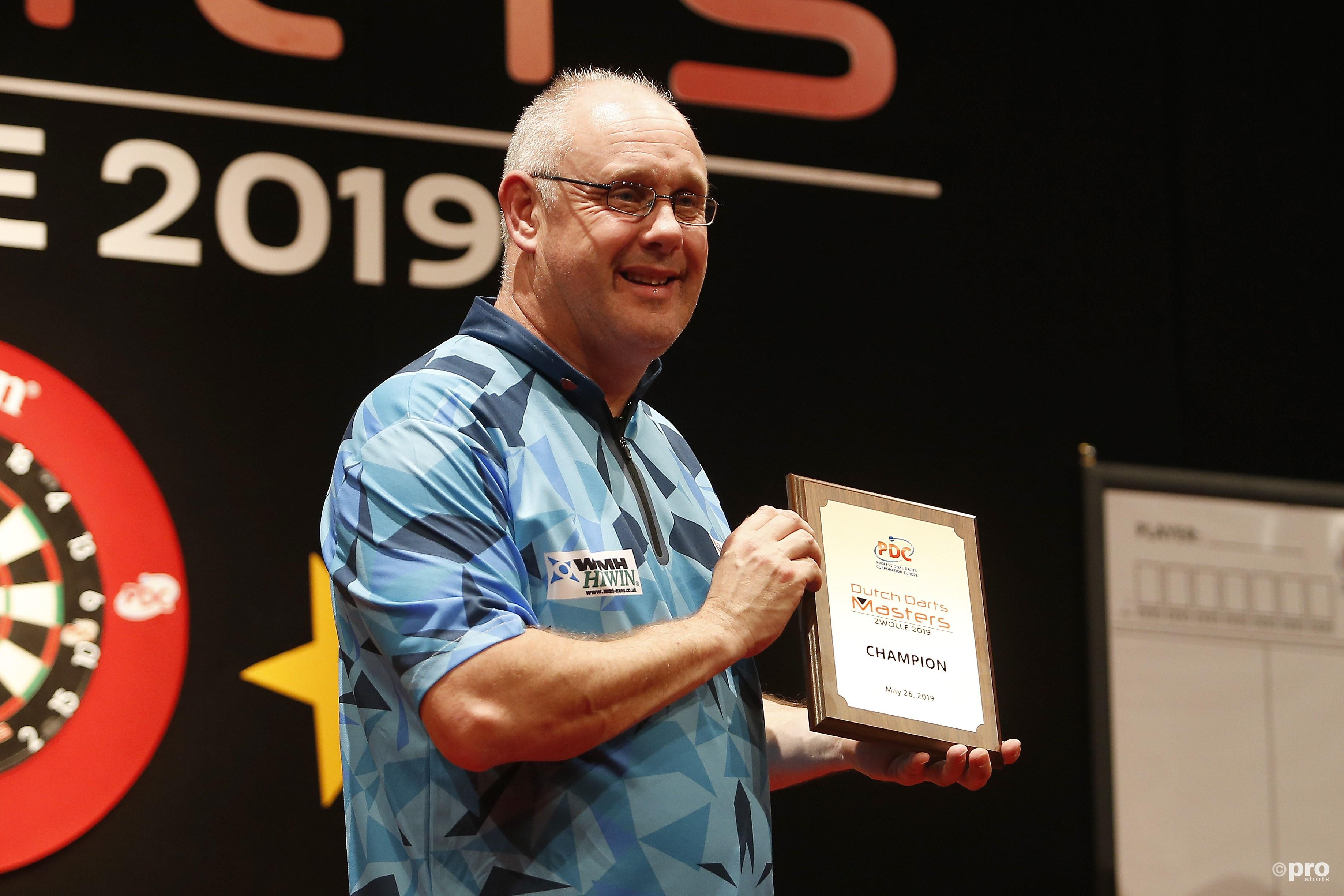 Ian White wint! (PRO SHOTS/Niels Boersema)