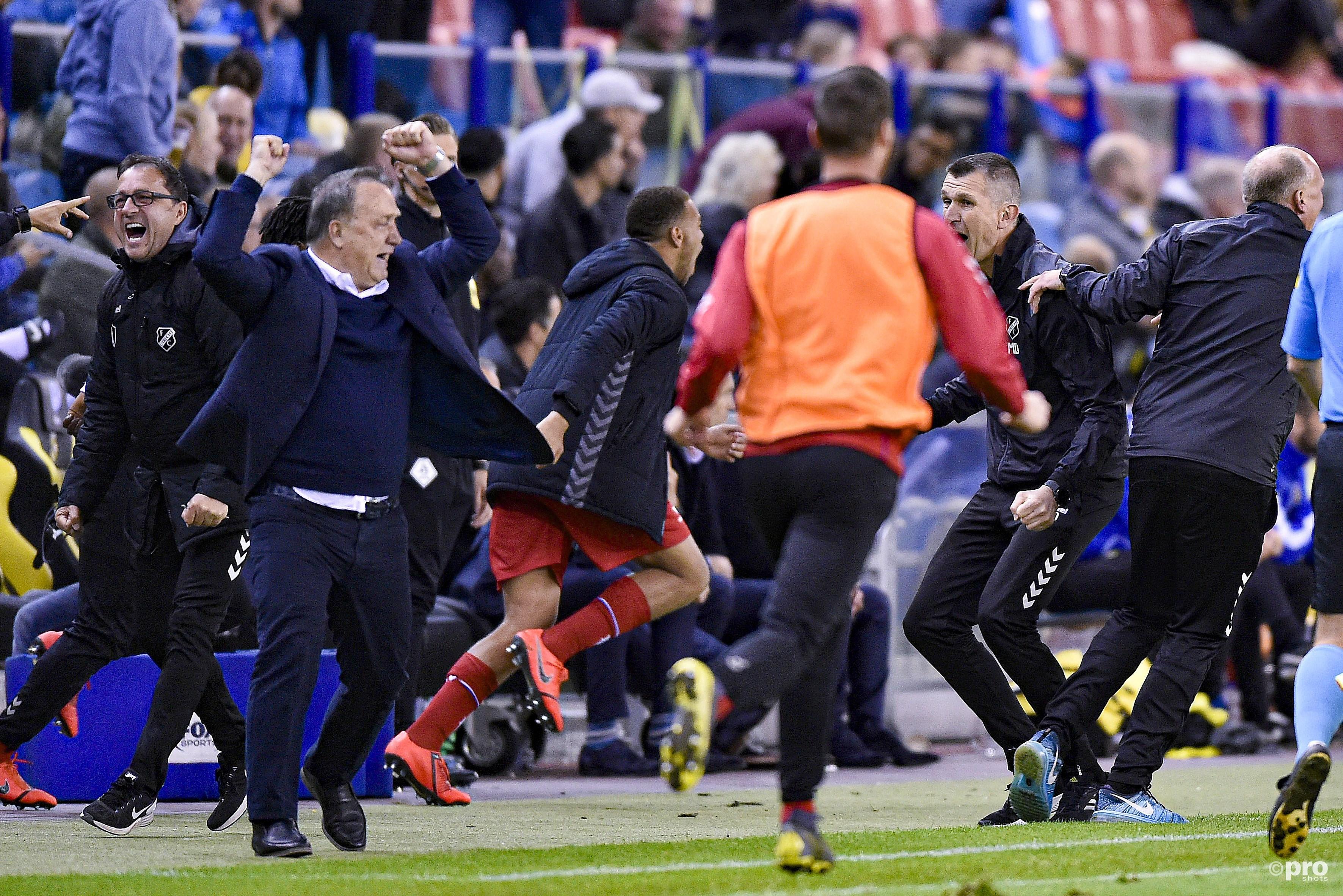 Advocaat laat FC Utrecht met Europees ticket achter (Pro Shots / Paul Meima)