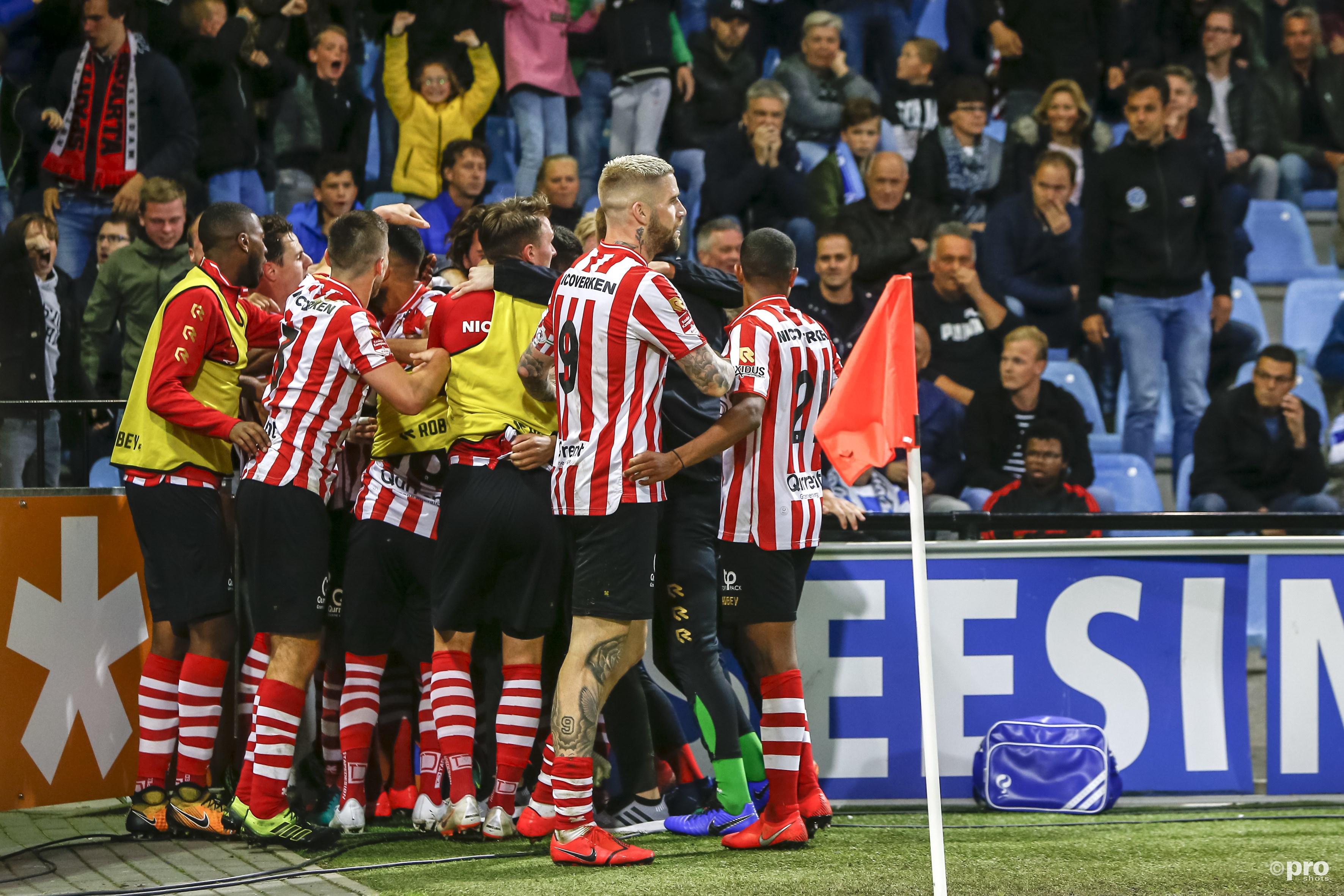 Sparta wint in Doetinchem en keert na seizoen terug in de Eredivisie (Pro Shots / Remko Kool)