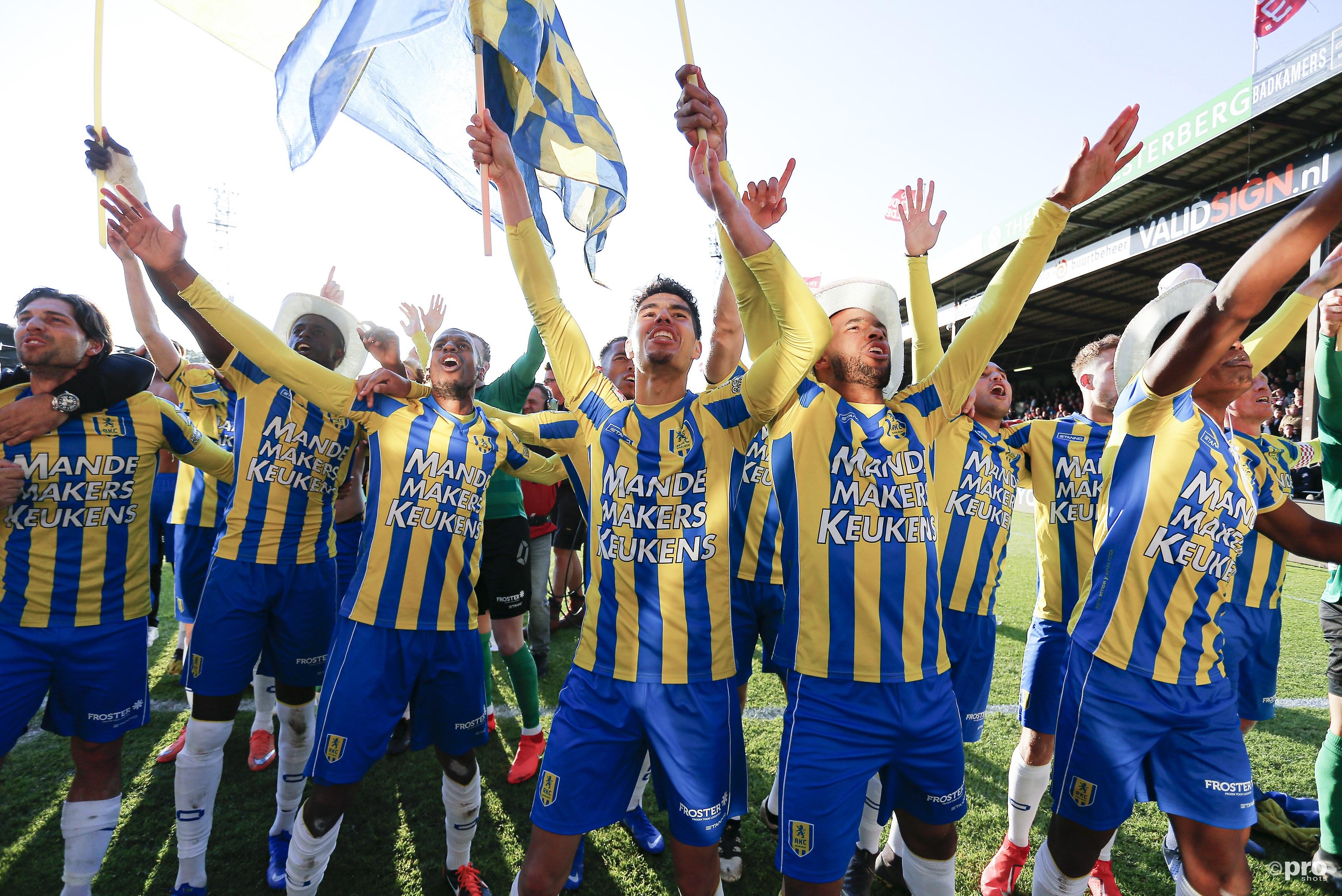 RKC terug in de Eredivisie. (PRO SHOTS/Niels Boersema)