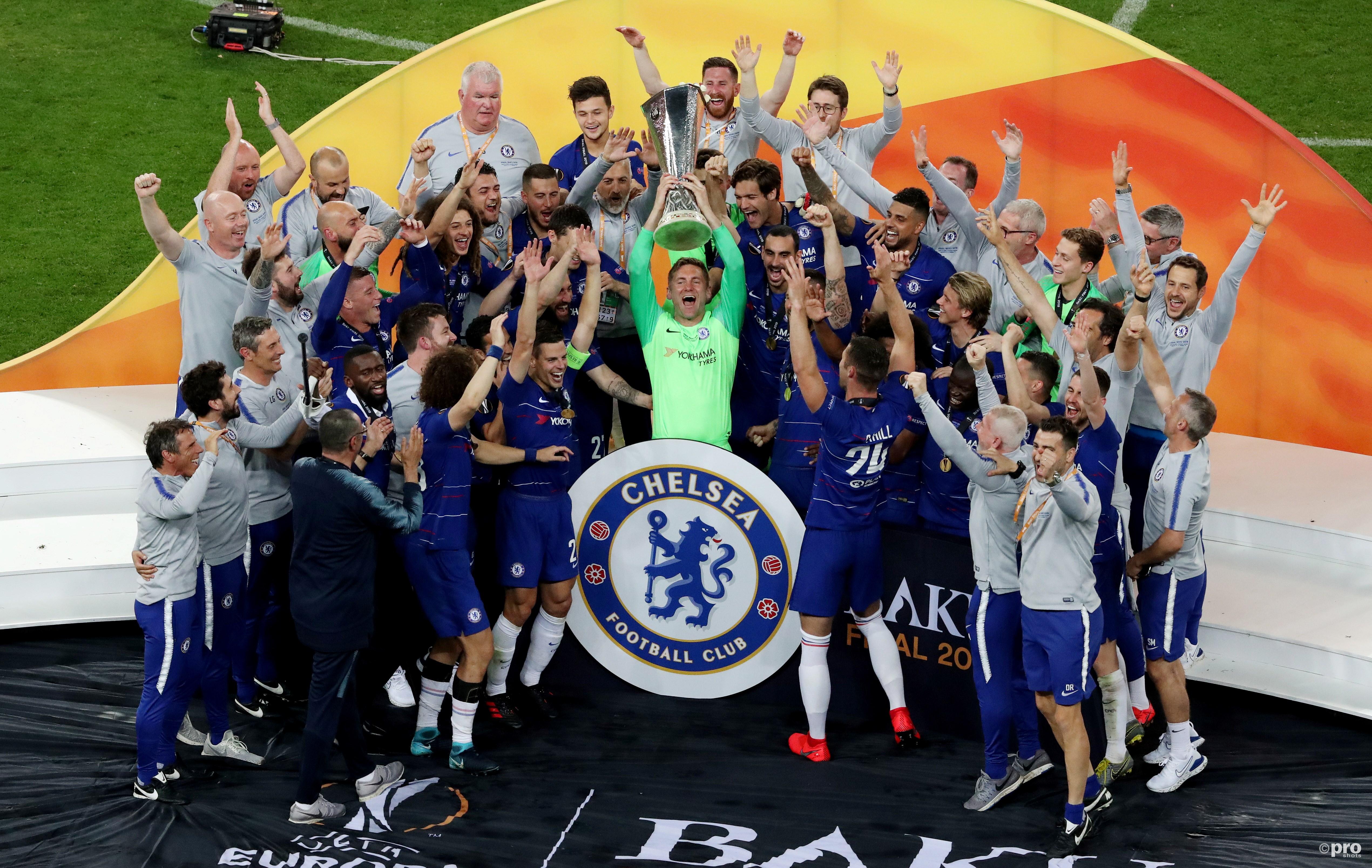 Chelsea wint de Europa League. (PRO SHOTS/Action Images)