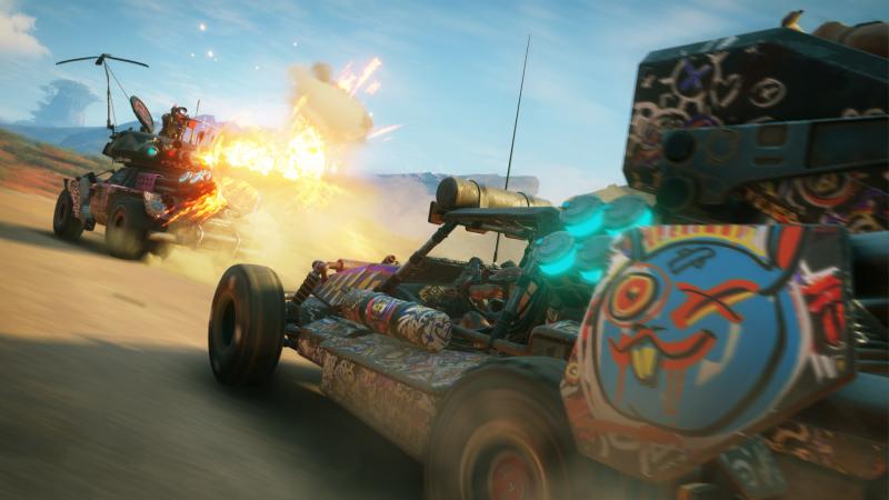 Rage 2 Vehicle Combat