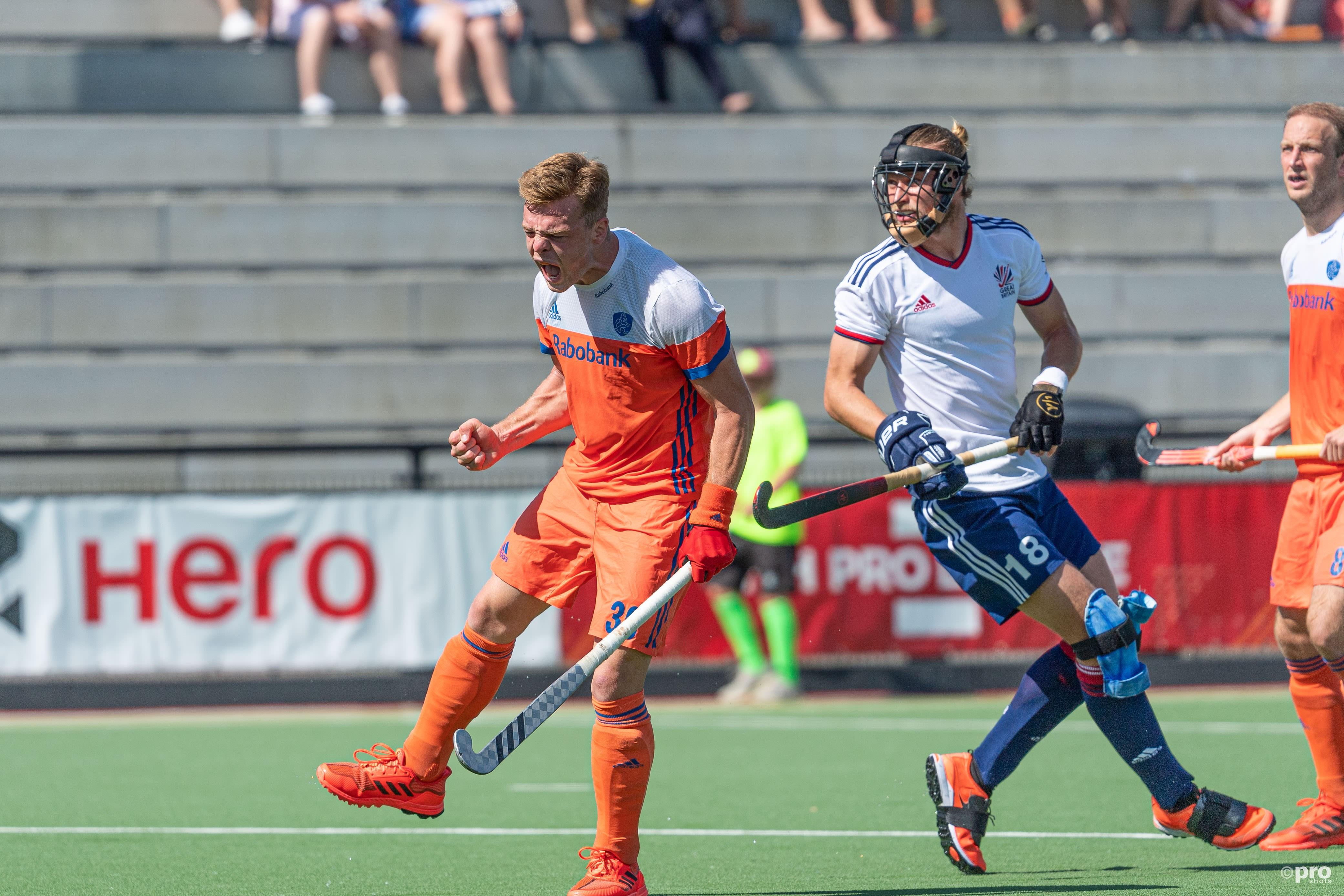Hockeymannen in Eindhoven onderuit tegen Britten (Pro Shots / Bart Scheulderman)