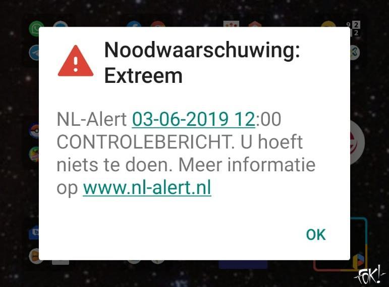 NL-Alert nu ook op digitale reclamezuilen