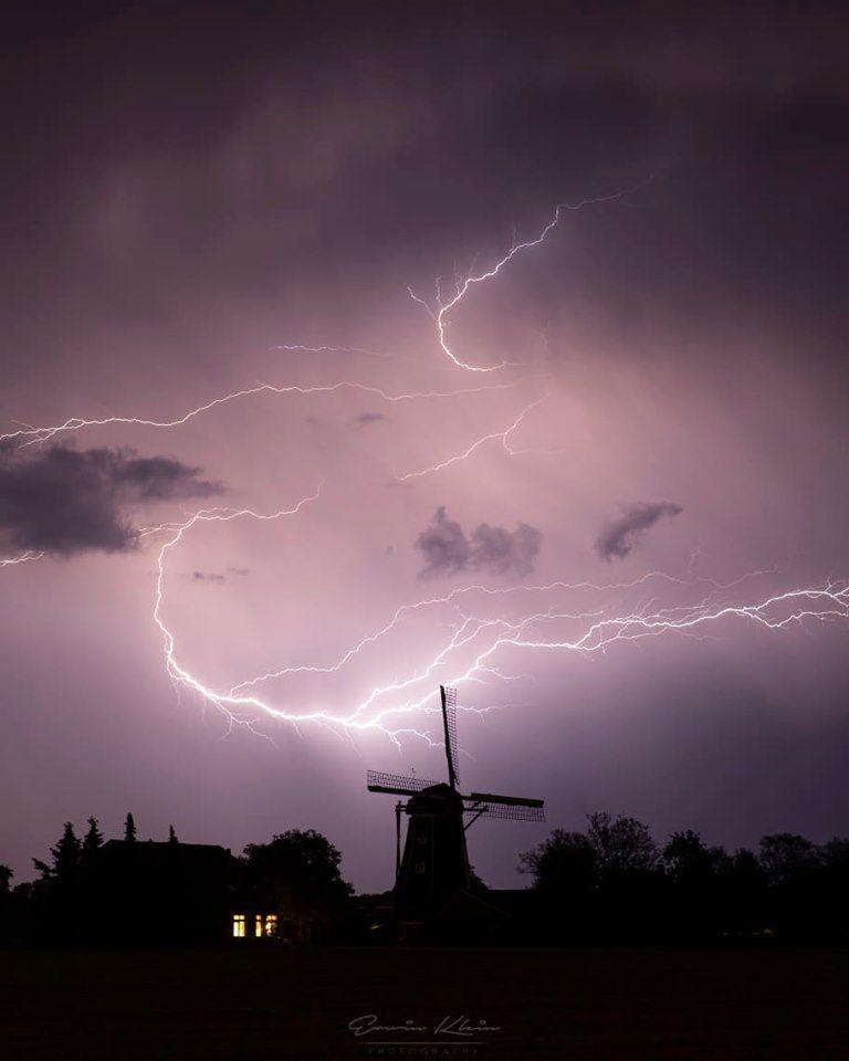 Onweer in Zelhem (Foto: Erwin Klein)