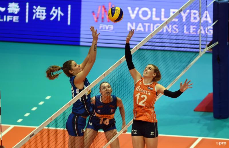 Nederlandse volleybalsters opnieuw onderuit in Nations League (Pro Shots / SIPA USA)