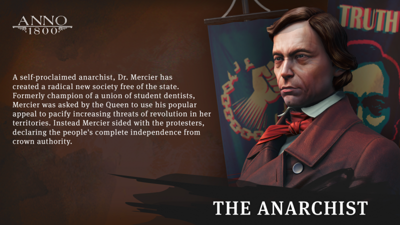 Anno 1800 - Anarchist Profile (Foto: Ubisoft)