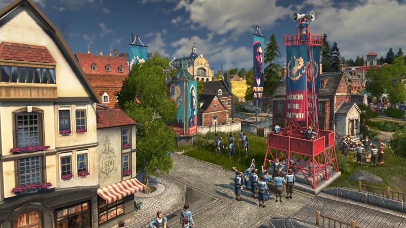 Anno 1800 - Anarchist Town (Foto: Ubisoft)