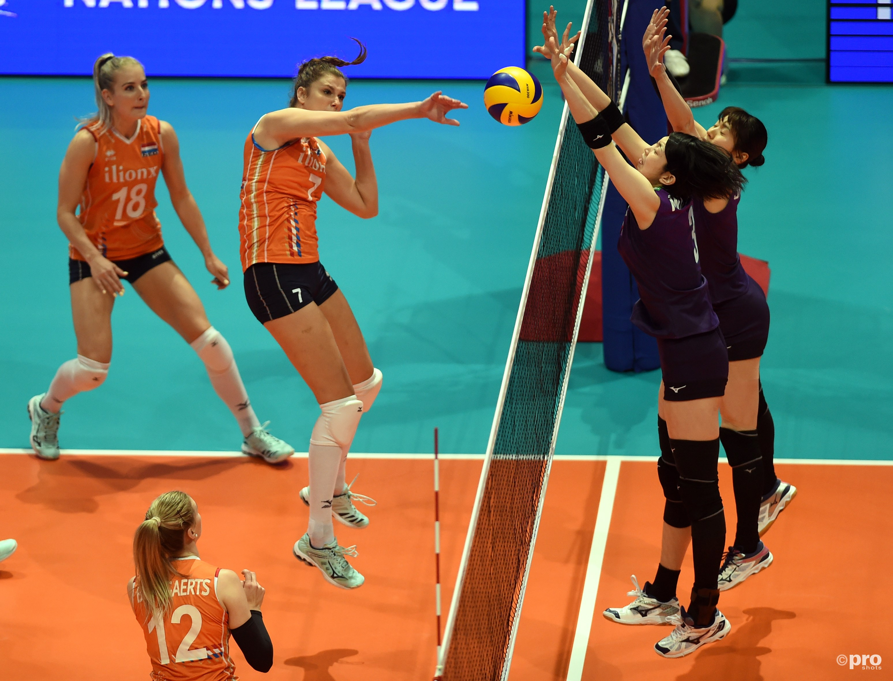 Nederlandse volleybalsters opnieuw onderuit in Nations League (Pro Shots / SIPA USA)