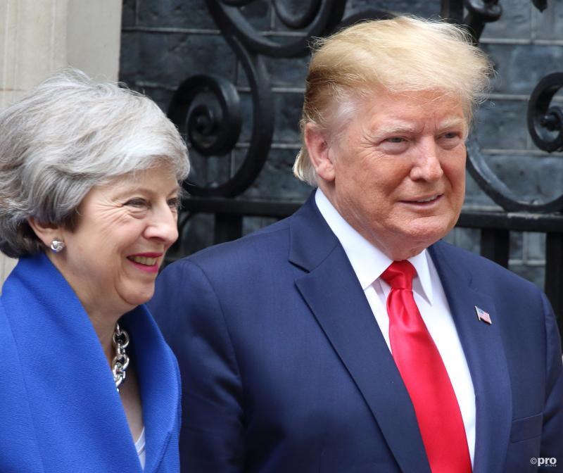 Trump belooft Britten geweldige deal, praktijk blijkt anders (Pro Shots / SIPA USA)