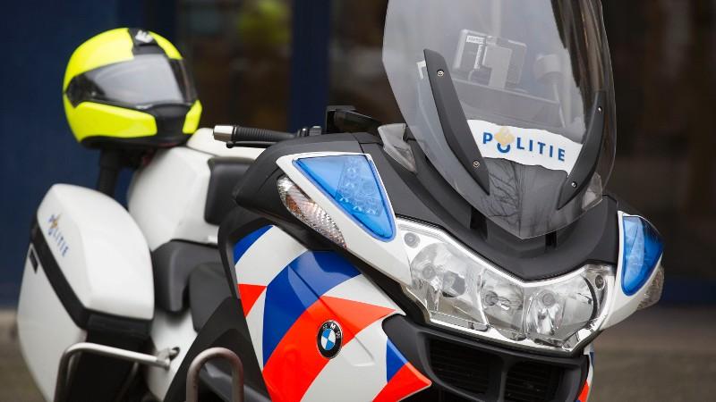 Een politiemotor (Afbeelding: Stockfoto politie)
