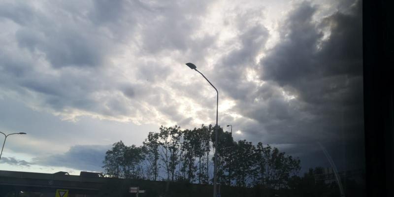 Wegtrekkende wolken (Foto: DJMO)