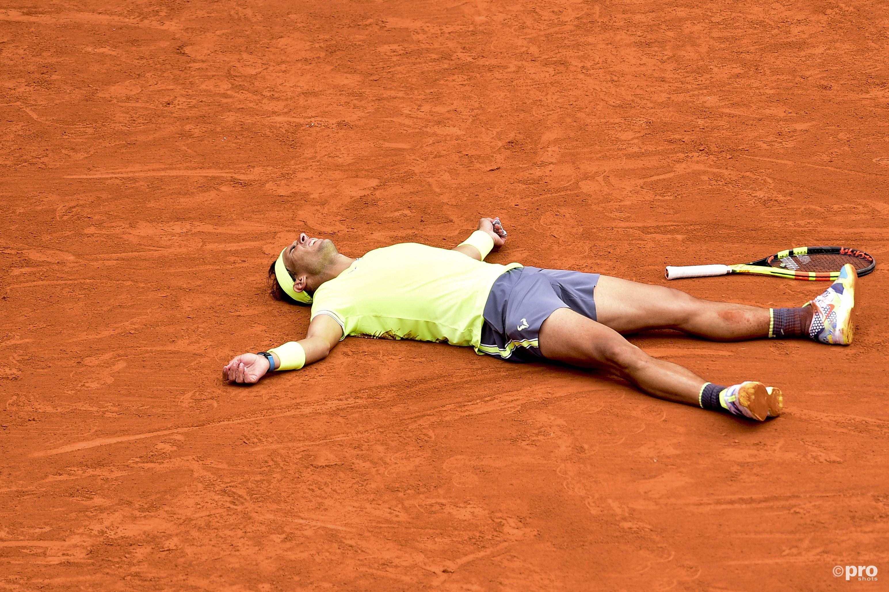 Nadal wint voor de twaalfde keer de Open Franse Tenniskampioenschappen. (PRO SHOTS/Paronamic)