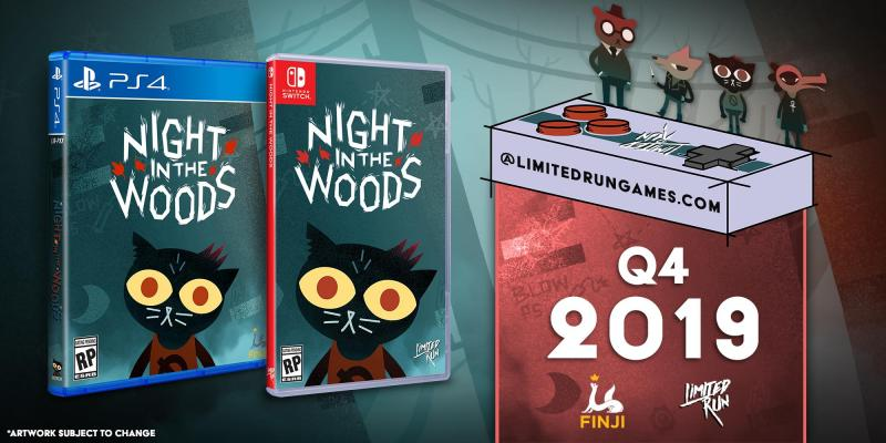 Night in the woods limited run games