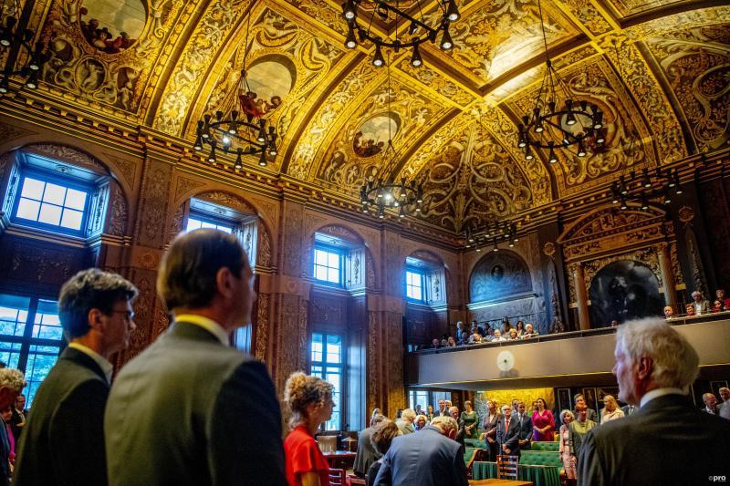 De Eerste Kamer waar Beukering nog steeds graag voorzitter van wil worden (Pro Shots / Robin Utrecht)
