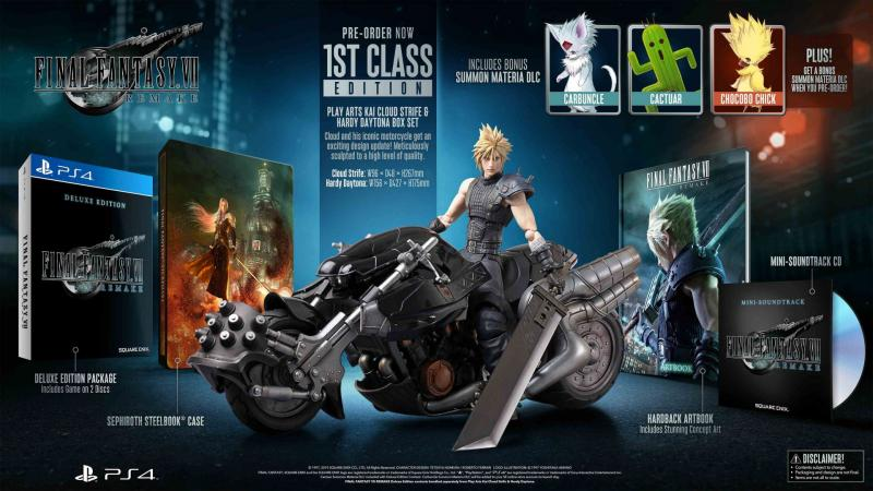 Final Fantasy VII Remake - 1st Class Edition (Foto: Square Enix)