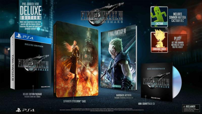 Final Fantasy VII Remake - Deluxe Edition (Foto: Square Enix)