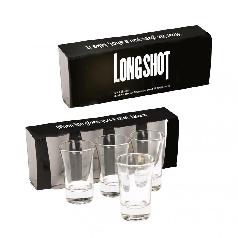 Shotglazen prijsvraag Long Shot