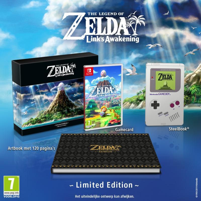 Legend of Zelda: Link's Awakening - Limited Edition (Foto: Nintendo)
