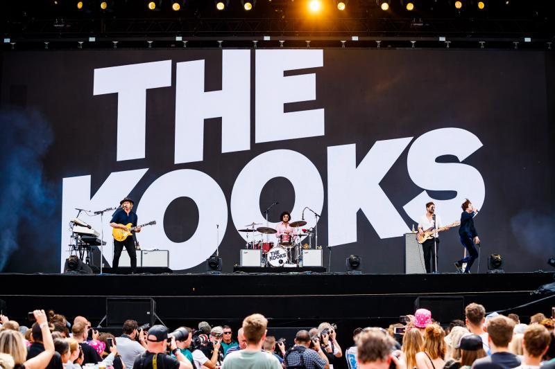 Pinkpop 2019: The Kooks (Foto: Bart Heemskerk)
