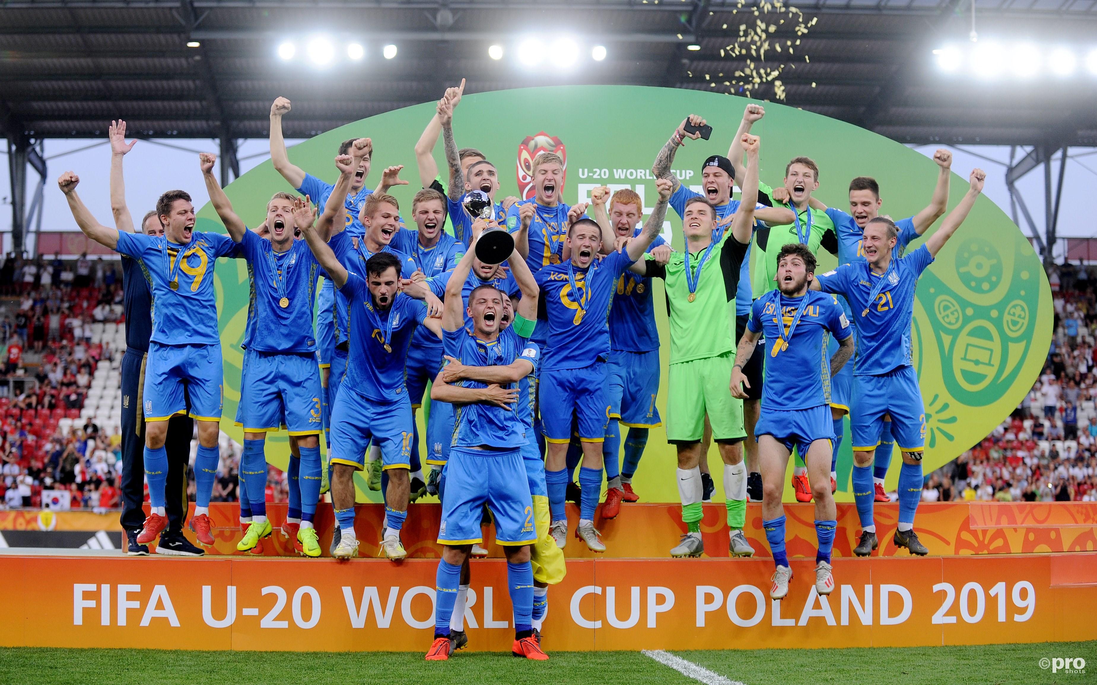 Oekraïne wint WK Onder 20. (PRO SHOTS/SIPA USA)