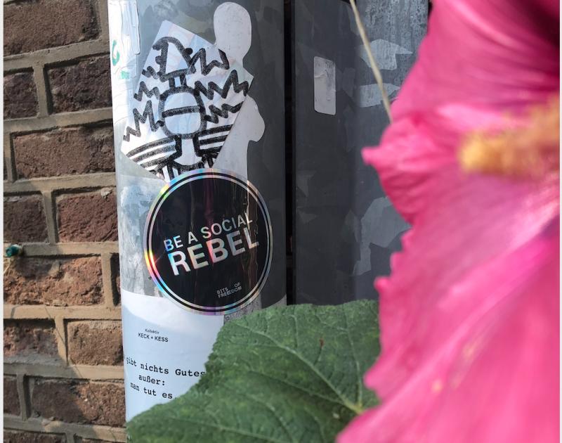 BoF: 'Be a Rebel'  (Foto: Bits of Freedom)