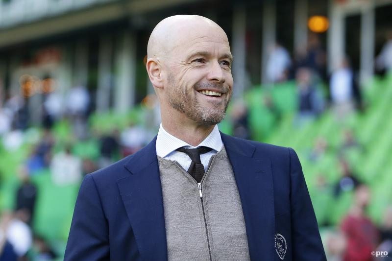 Ajax weet succescoach Ten Hag twee jaar langer aan zich te binden (Pro Shots / Niels Boersema)