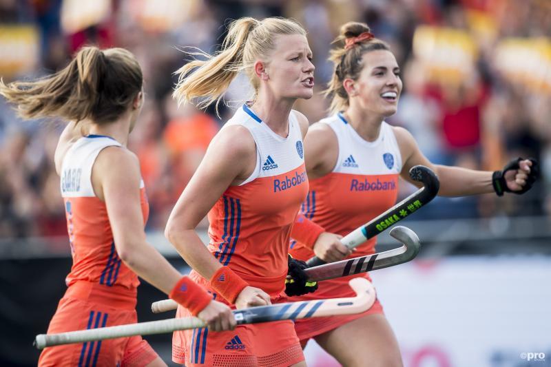 Oranje dames demonstreren overmacht als nummer 1 van Hockey Pro League (Pro Shots / Joep Leenen)
