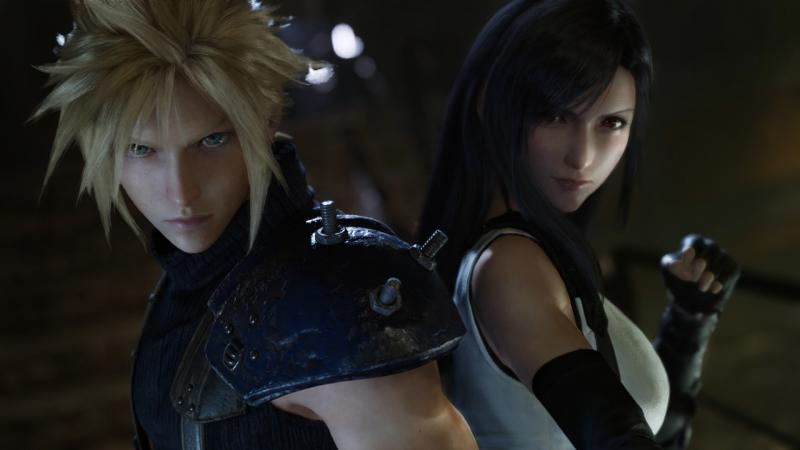 Final Fantasy VII Remake - Cloud en Tifa (Foto: Square Enix)