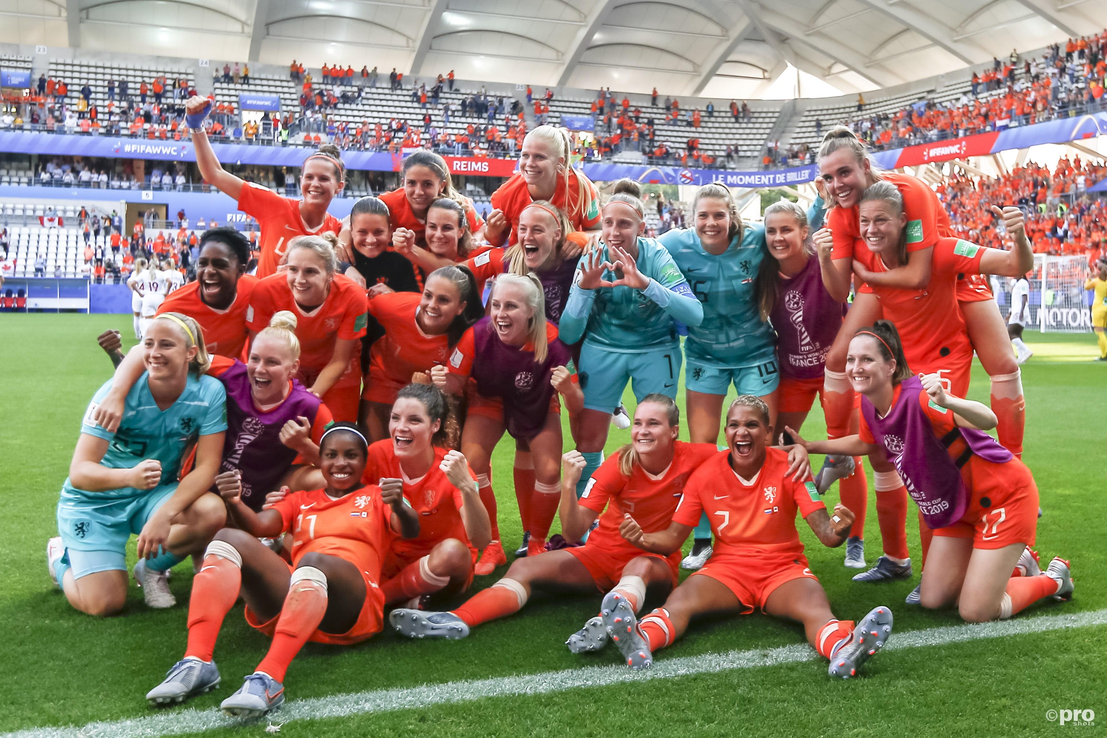Nederland speelt voor een plek in de kartfinale tegen Japan (Pro Shots / Remko Kool)