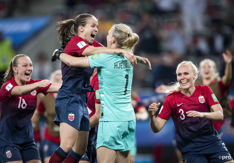 Noorwegen naar de kwartfinales. (PRO SHOTS/Imago)