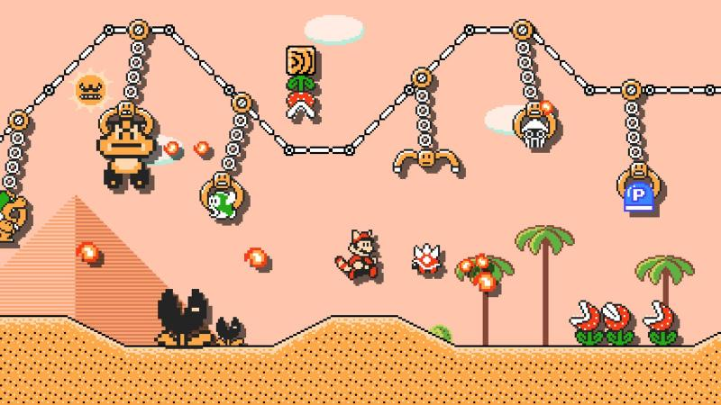 Super Mario Maker 2 Claws