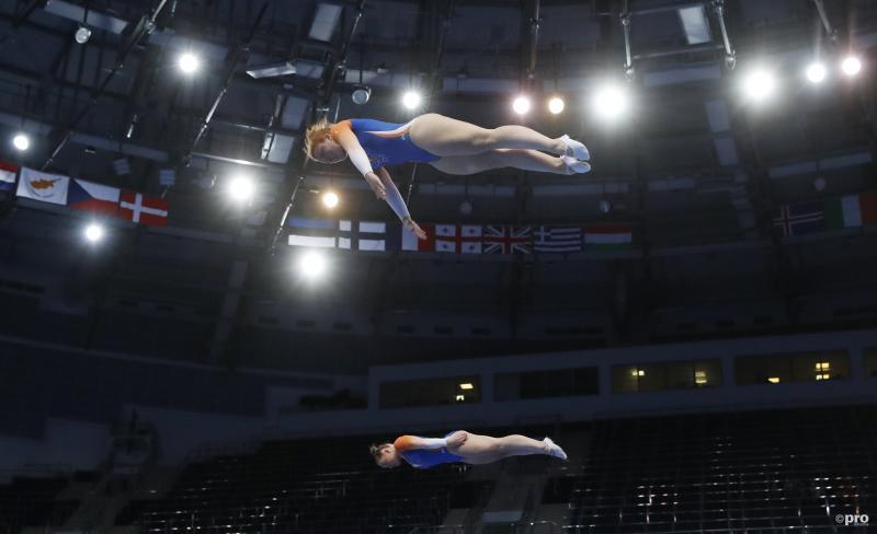 Trampolinespringsters Slattery en Pol grijpen naast medailles op Europese Spelen (Pro Shots / Action Images)