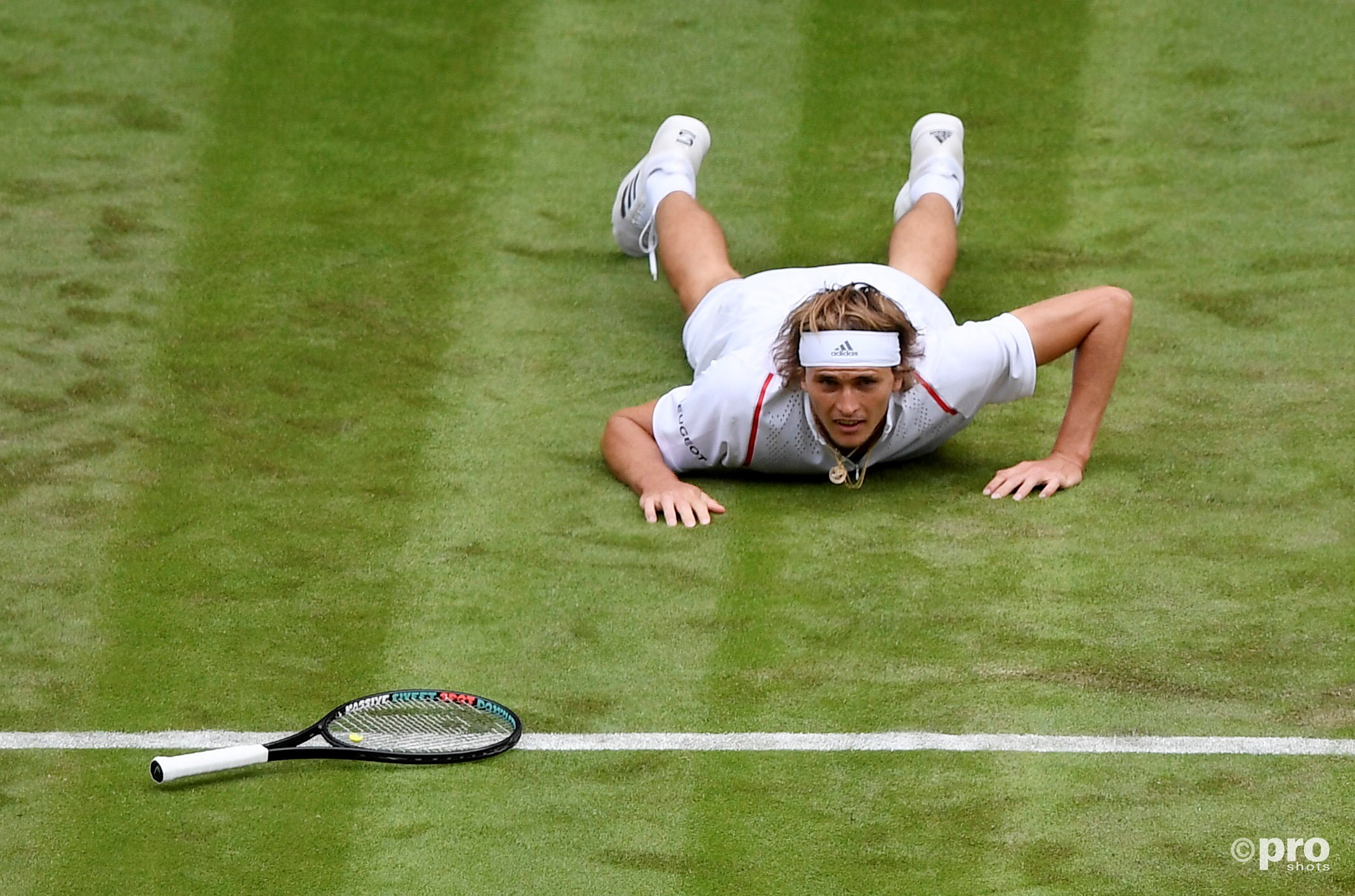 Zverev onderuit in openingsronde Wimbledon (Pro Shots / Action Images)