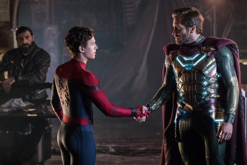 Spider-Man: Far From Home: Tom Holland en Jake Gyllenhaal