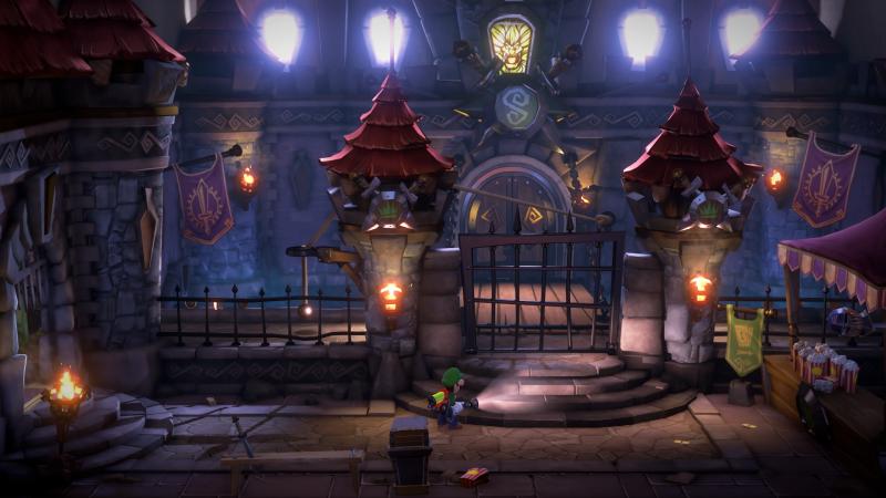 Luigi's Mansion 3 - Castle (Foto: Nintendo)