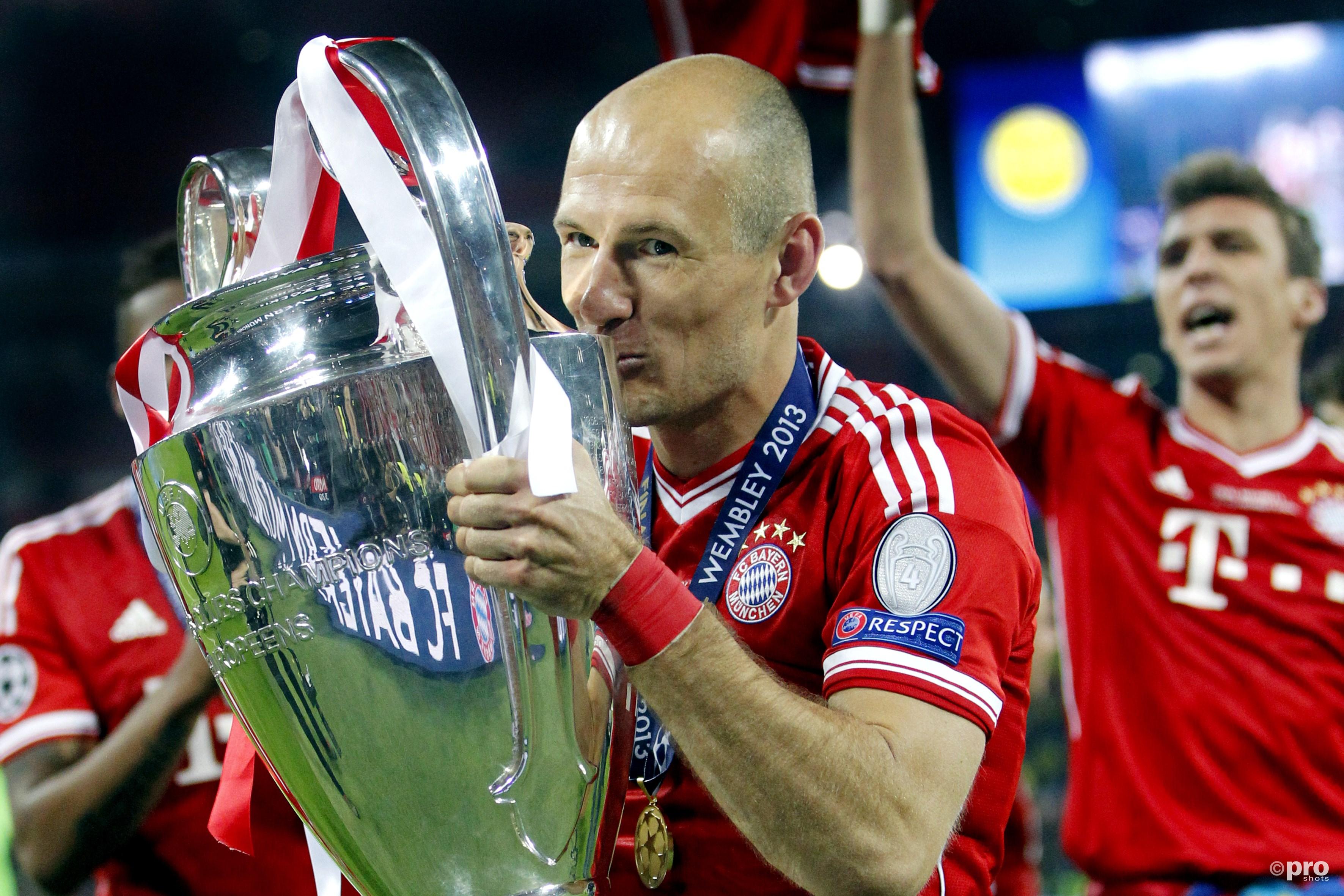 Op 25 mei 2013 bezorgt Robben zijn club Bayern München de Champions League (Pro Shots / Stanley Gontha)