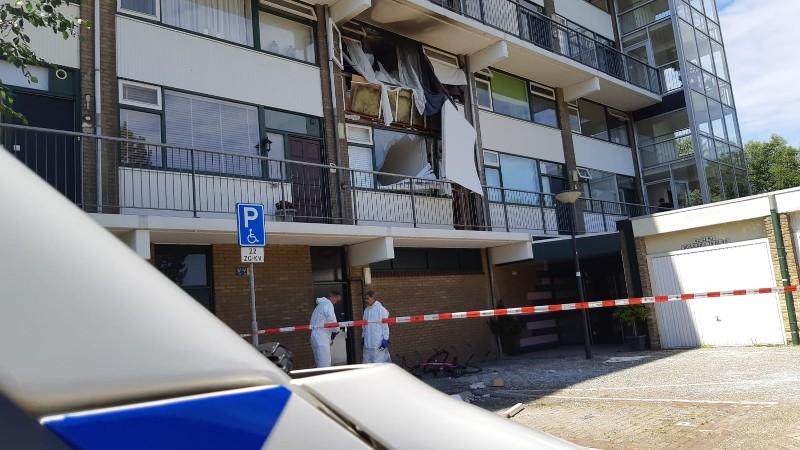 Slachtoffers explosie Vlaardingen zijn bewoners (Foto: Politie)